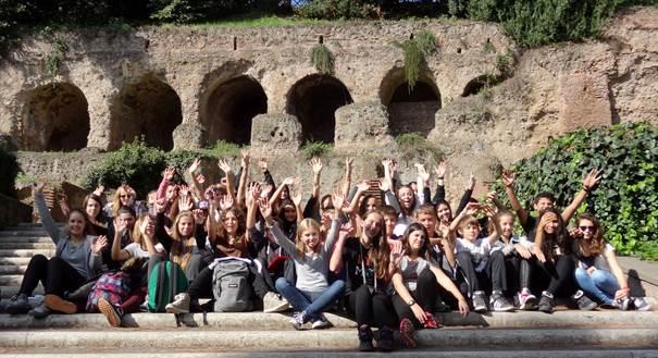 De la 4ème à la terminale, St Joseph à Rome.